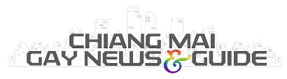 New Chiang Mai gay news Logo - Graphic design by Bon Tong productions