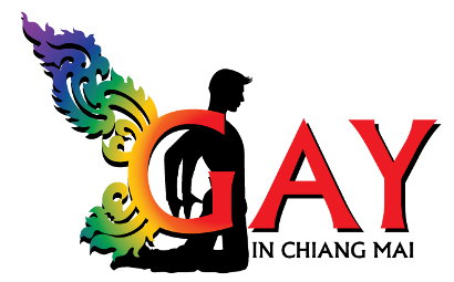 New Gay in Chiang Mai Logo - Graphic design by Bon Tong productions